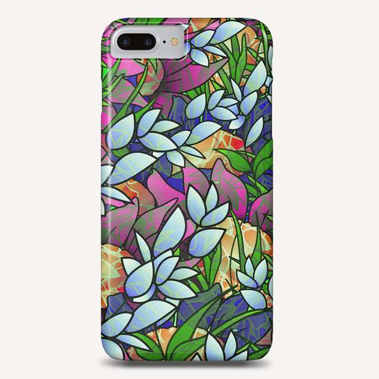 Floral Abstract Artwork G464 Phone Case by MedusArt