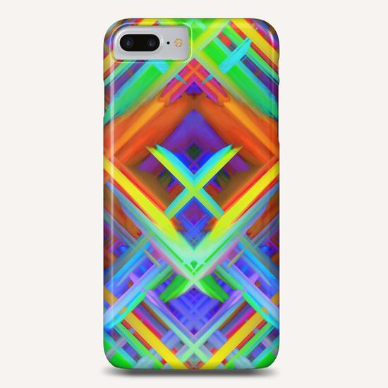 Colorful digital art splashing G466 Phone Case by MedusArt