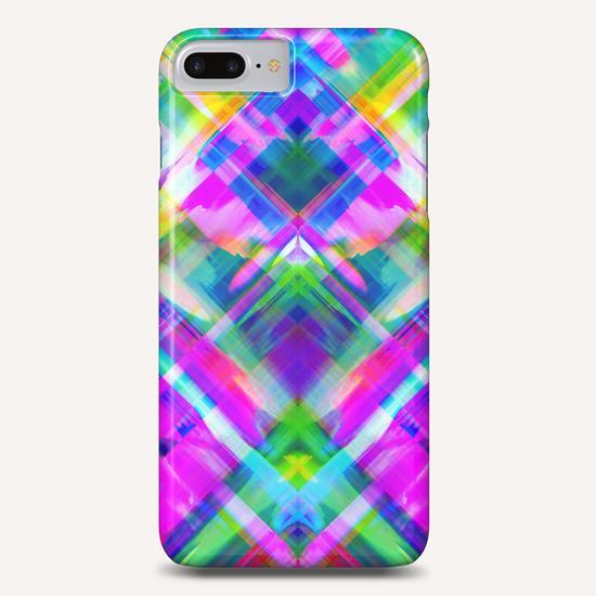 Colorful digital art splashing G469 Phone Case by MedusArt