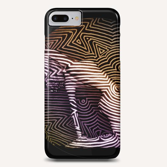 Courbes sur Courbes Phone Case by Denis Chobelet