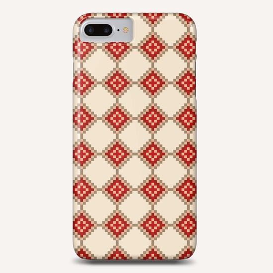 Pixelated Christmas Phone Case by PIEL Design