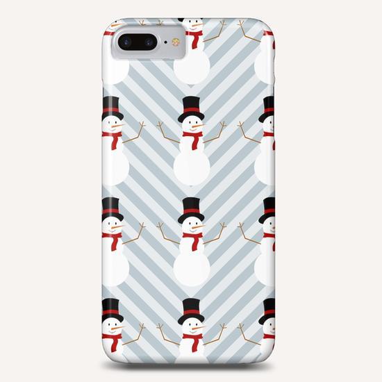 Snowman by PIEL Phone Case by PIEL Design