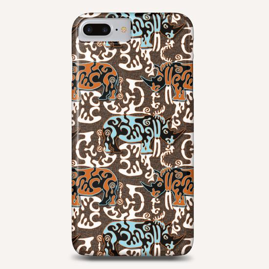 Diceros Bicornis Phone Case by vannina