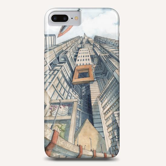 Downtown Phone Case by Davide Magliacano
