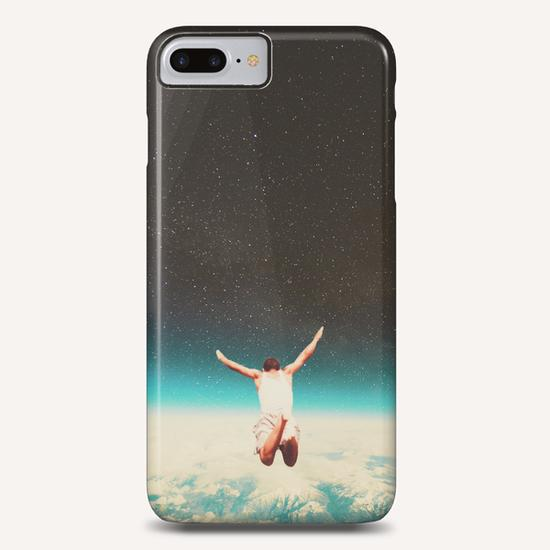 Falling With A Hidden Smile Phone Case by Frank Moth