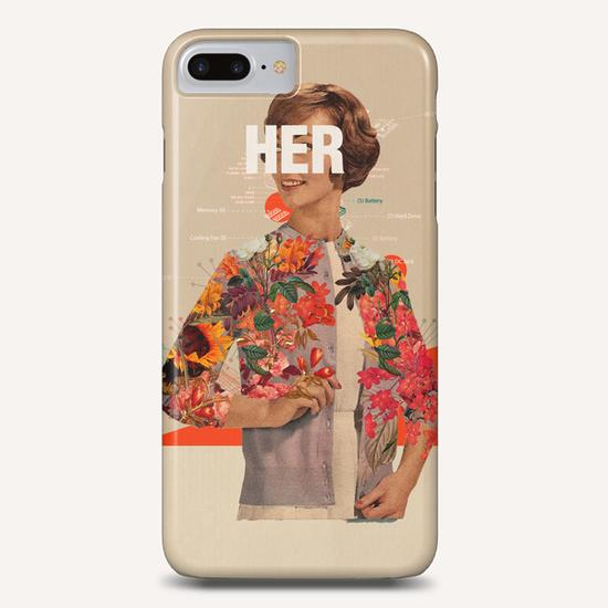 Her Phone Case by Frank Moth