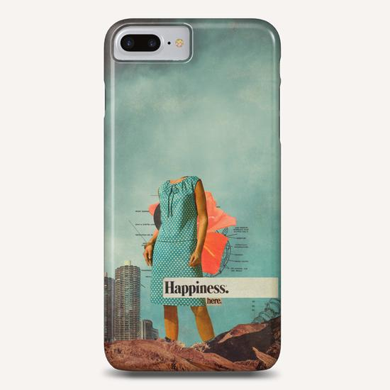 Happiness Here Phone Case by Frank Moth