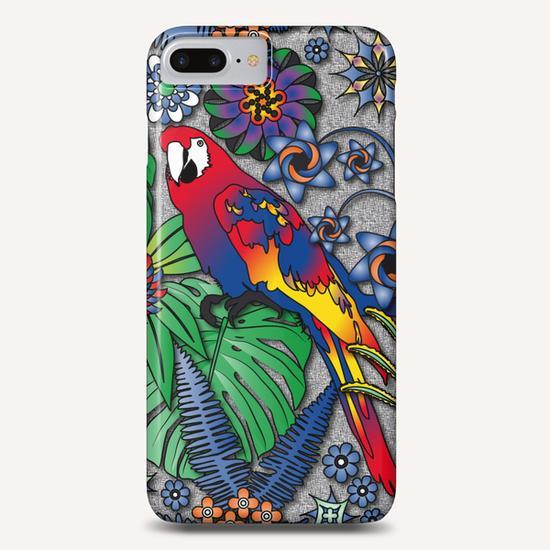 Jungle Flowers Phone Case by vannina