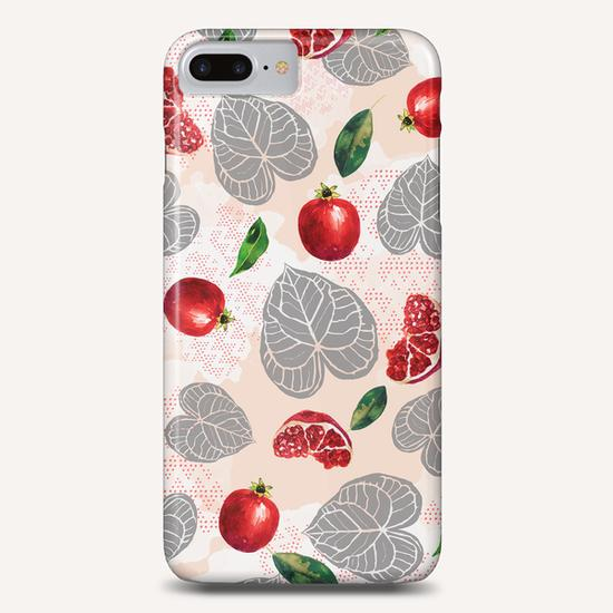 Love leaves with fruits Phone Case by mmartabc