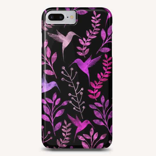 Watercolor Floral and Bird  Phone Case by Amir Faysal