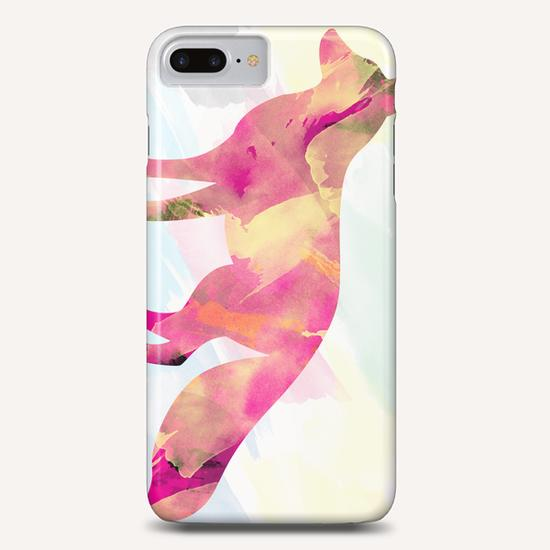 Abstract Fox Phone Case by Amir Faysal