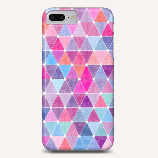Colorful Geometric II Phone Case by Amir Faysal