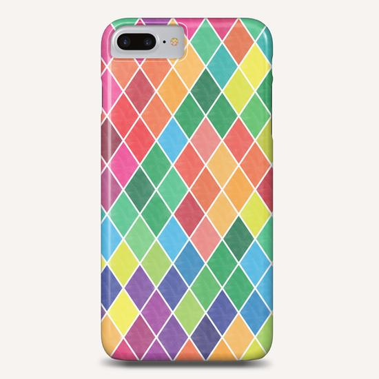 Colorful Geometric  Phone Case by Amir Faysal