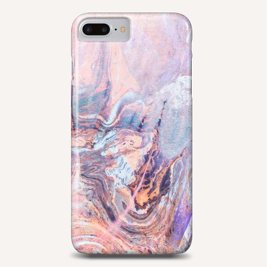 Multicolored saturated marble Phone Case by mmartabc