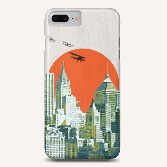 Red sun on NY Phone Case by tzigone