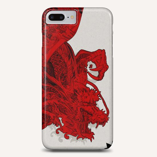 RED DRAGON Phone Case by sagi.art