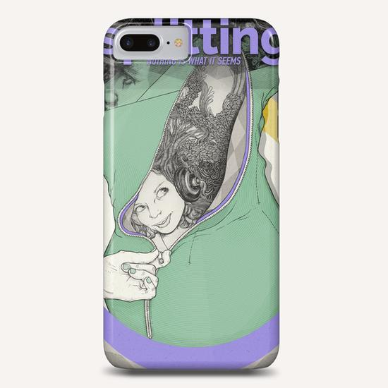 NOTHING IS WHAT IT SEEMS Phone Case by sagi.art