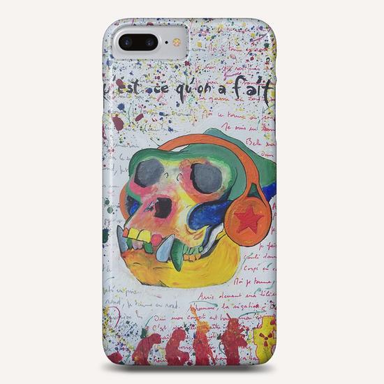 Qu'est ce qu'on a fait ! Phone Case by frayartgrafik