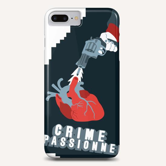 CRIME OF PASSION Phone Case by Francis le Gaucher