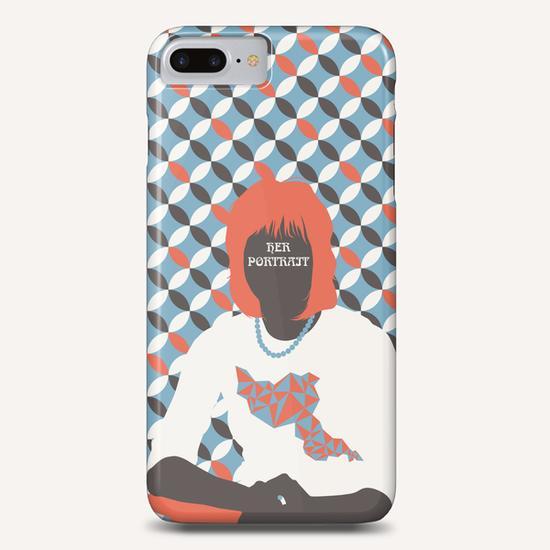 HER PORTRAIT Phone Case by Francis le Gaucher