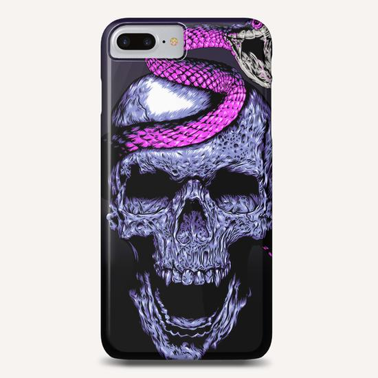 Skull and Snake Phone Case by Jordygraph