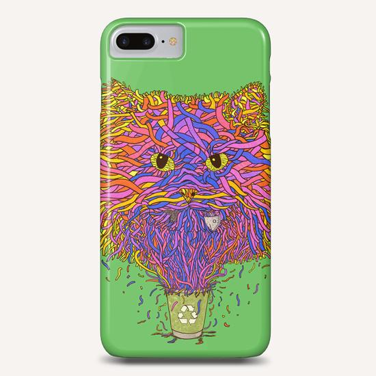 Recycle cat Phone Case by Tummeow