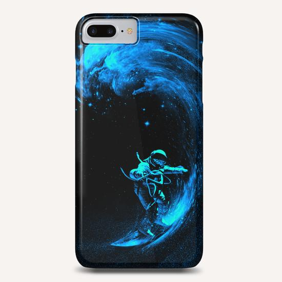 Space Surfing Phone Case by Nicebleed