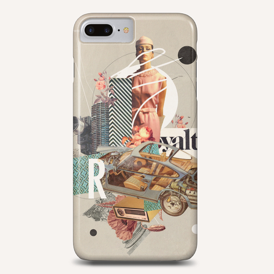 Spirited Royalty Phone Case by Frank Moth