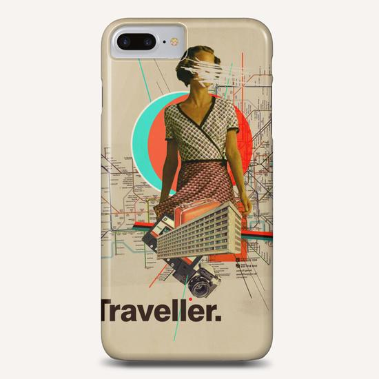 Traveller Phone Case by Frank Moth