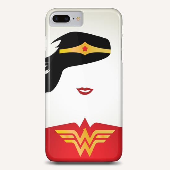 WONDER WOMAN Phone Case by Roberto Caporilli