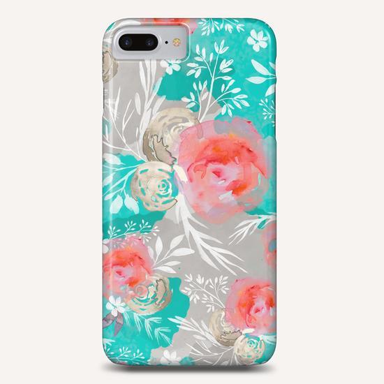 Watercolor Flourish Phone Case by mmartabc