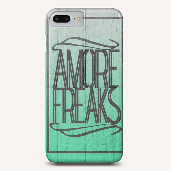 AMORE FREAKS Phone Case by Chrisb Marquez
