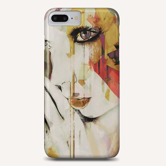 Abstract Portrait - Pages Phone Case by Galen Valle