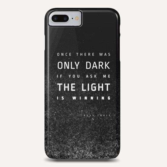 LIGHT vs DARK Phone Case by DANIEL COULMANN