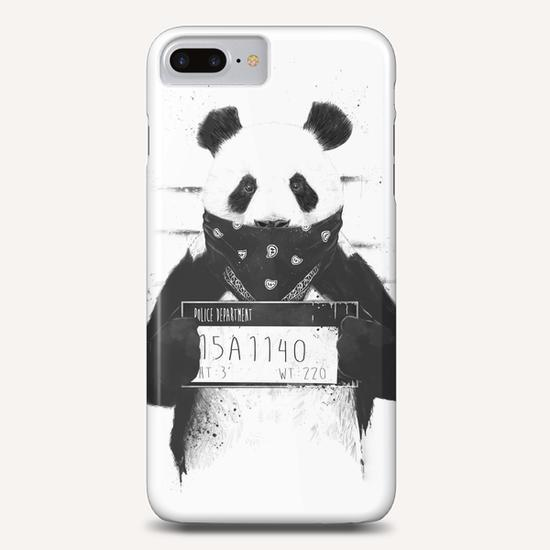 Bad panda Phone Case by Balazs Solti