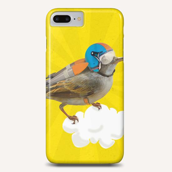 Rocket Bird Phone Case by tzigone