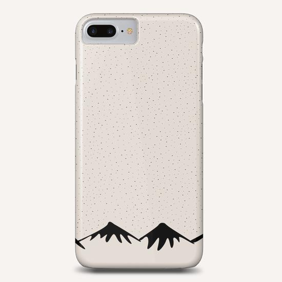Snow and mountain by PIEL Phone Case by PIEL Design