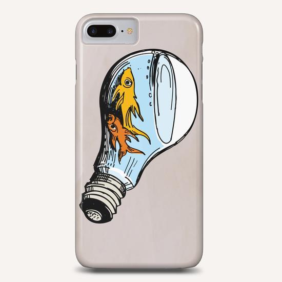 Fishes-Bulb Phone Case by Georgio Fabrello