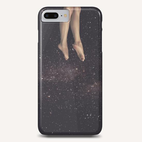 Hanging in space Phone Case by lacabezaenlasnubes
