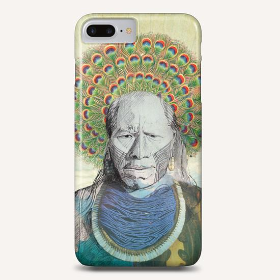 Indian Peacock Phone Case by tzigone