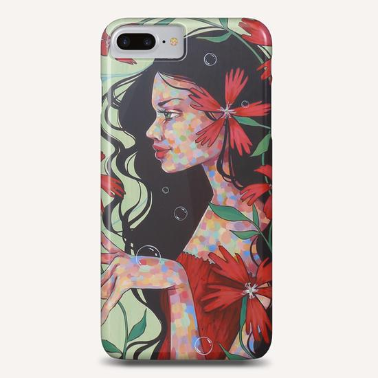 Indian Pinks Phone Case by Ursula X Young