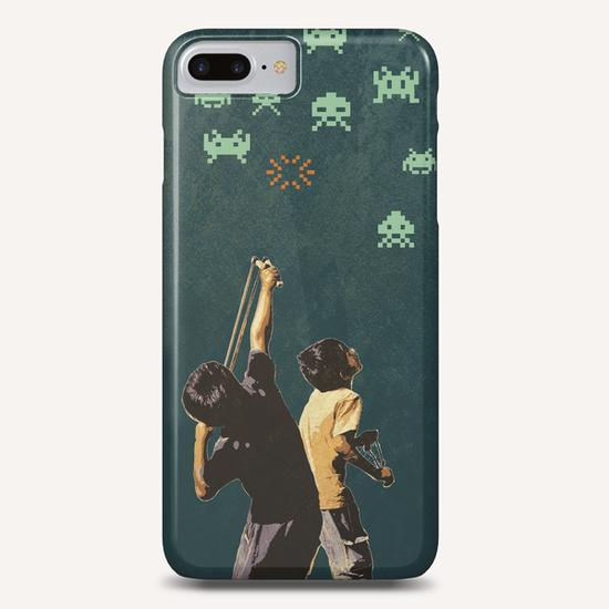 Invaders! Phone Case by tzigone