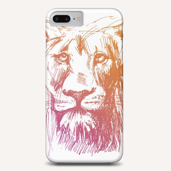 Lion Phone Case by Georgio Fabrello