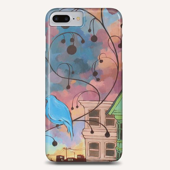 Lone Bird Prophecy Phone Case by Ursula X Young