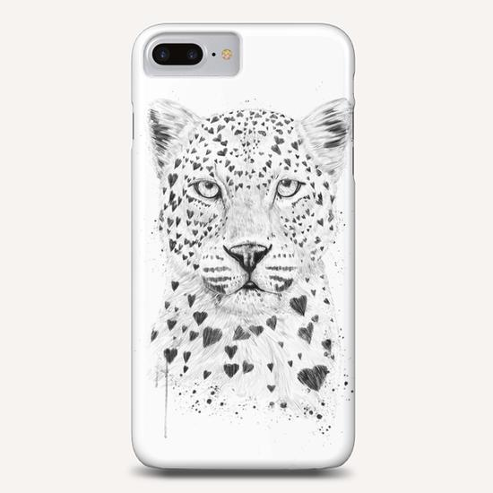 Lovely leopard Phone Case by Balazs Solti