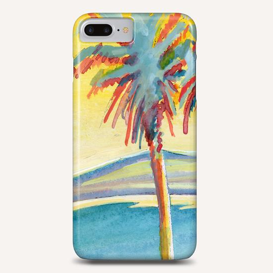 Palm Tree on the French Riviera Phone Case by Georgio Fabrello