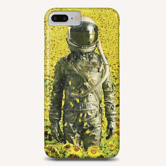 Stranded in the sunflower field Phone Case by Seamless