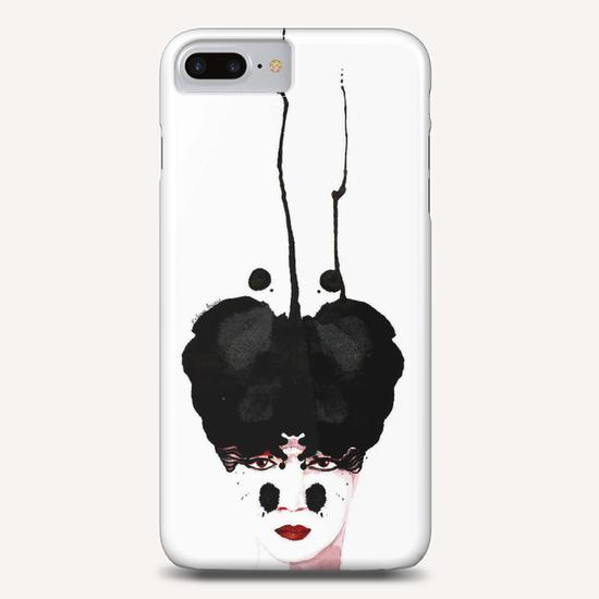 """Princesse taches noires"" Phone Case by Virginie Rahem Ancey"