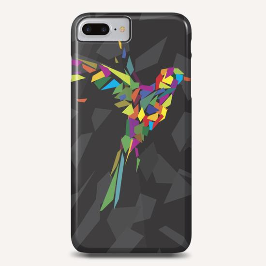 Rainbow Fly-Bird Phone Case by Alex Xela