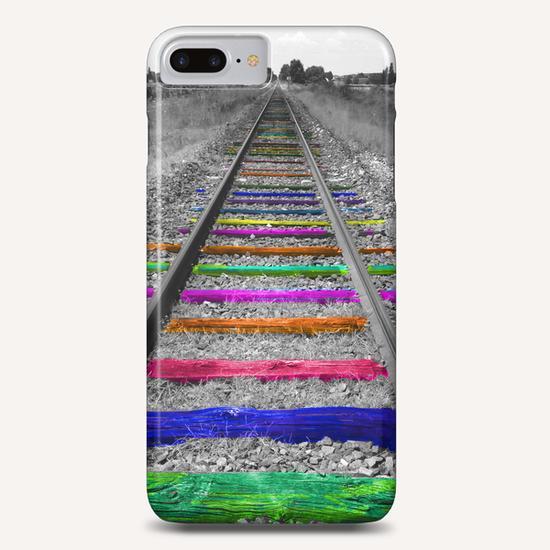 Rainbow Railway Phone Case by Ivailo K